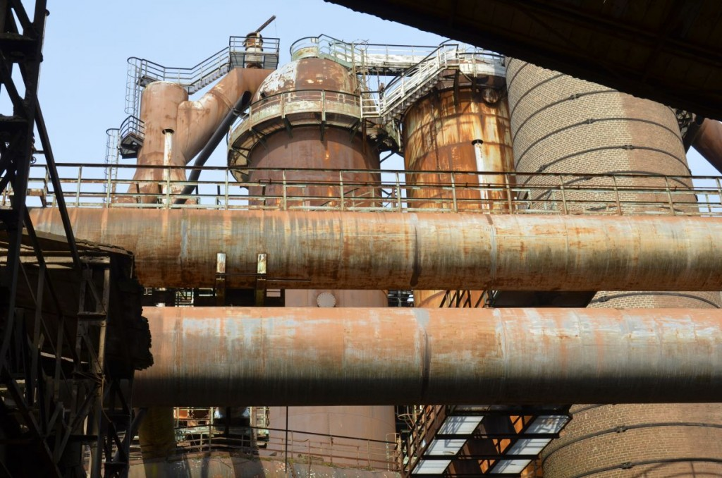 Ein beeindruckendes Denkmal der hochindustriellen Eisengewinnung. Bildrechte: Wenzel Seibold.