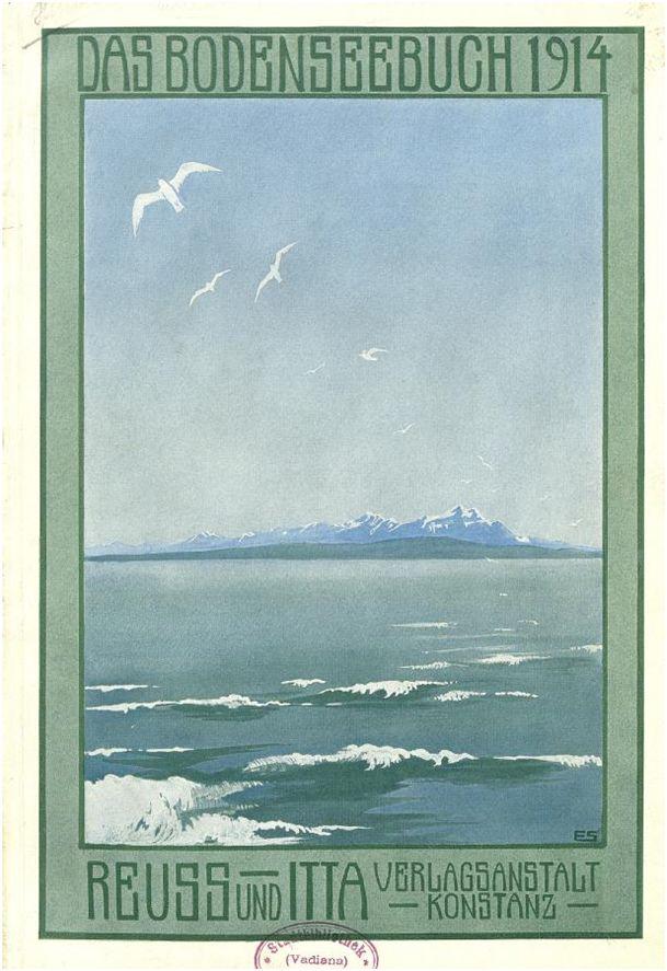 Das Bodenseebuch 1914, Digitalisat des Vereins Bibliotheken der Regio Bodensee, URL: http://www.bodenseebibliotheken.eu/page?bosb-j1914-h001-f-X002.